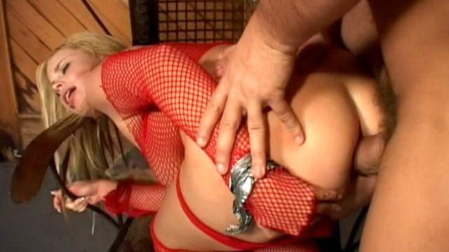 Large Breasted Fetish Whore In Fishnets Alicia Rhodes Using Anally A Big Mutton