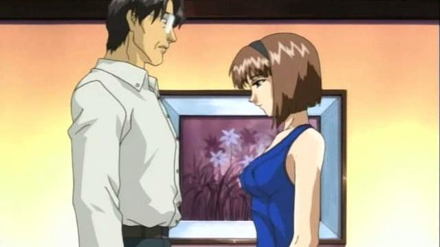 Brown Haired Anime Young One Getting Bee Stings And The Great Depression Teased By Way Of A Mature Dude