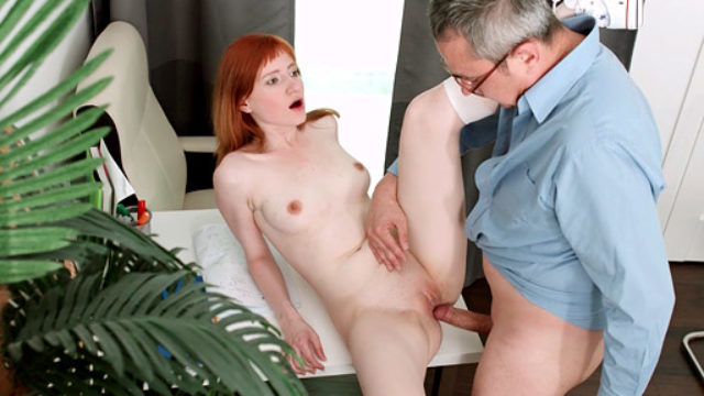 Sensual Redhead Fucks To Go Her Magnificence