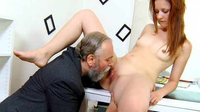 Sveta Is Bent Over And Her Nates Fornicatestared Onerous Via Her Older Guy. He Fucks Her Anally And Young One Moans.