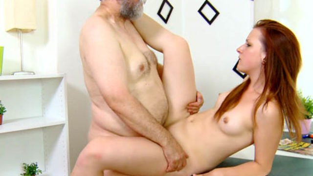 Sveta Is Bent Over And Her Backside Screwed Arduous Through Her Older Guy. He Fucks Her Anally And Whippersnapper Moans.