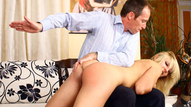 First-timer Smacking Sequence Hana's Spanking