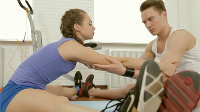 Good Stunner Romped Through Her Instructor