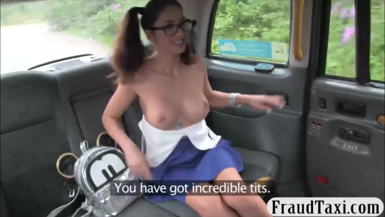 Flirty Teenage Honey Rectal Romped Within The Taxi