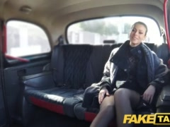 Faux Cab Czech Chick Thirsts A Stiff Man Sausage