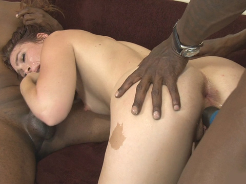 Insatiable Stunner Poon And Bung Splayed Firm Through Dark-hued Sausages