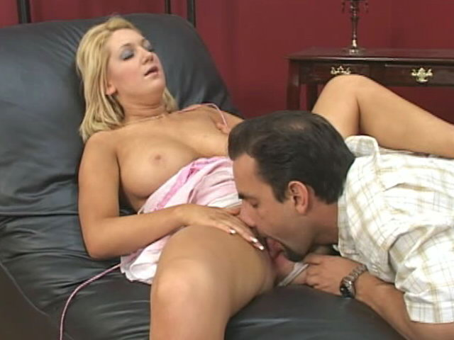 Giant Boobed Ash-blonde Boomshell Jessica Tasty Getting Pinkish Pussy Gobbled Rigid