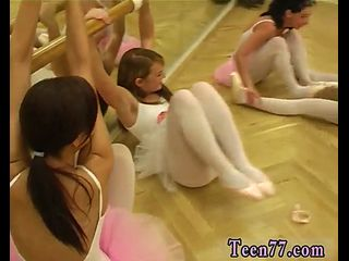 Gal Agent Girl-on-girl Strap-on Red-hot Ballet Lady Fuckfest