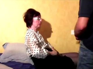 Grandmother Ass Fucking Three Way